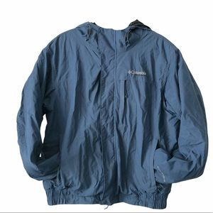 Columbia Vintage Omni-Shield Bomber style fleece L